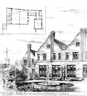 Toynbee Hall rendering from 1938