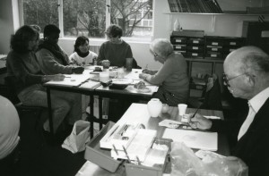 Adult education class in Cambridgeshire, with thanks to the Institute of Education Archives