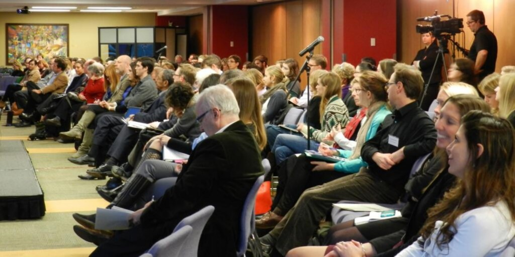 "Audience during the closing plenary session on ""The Future of Humanitarian Response"""